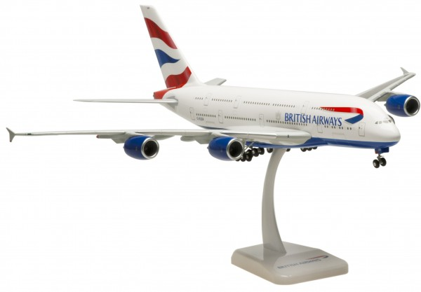 Airbus A380-800 British Airways Scale 1:200
