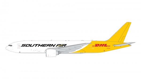 "Boeing 777-200LRF Southern Air ""DHL tail"" N775SA Scale 1/400 #"
