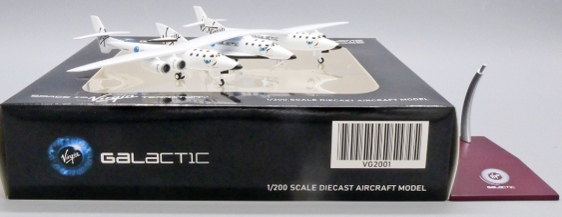 """Virgin Galactic Scaled Composites 348 White Knight II """"Old Livery"""" N348MS Scale 1/200"""