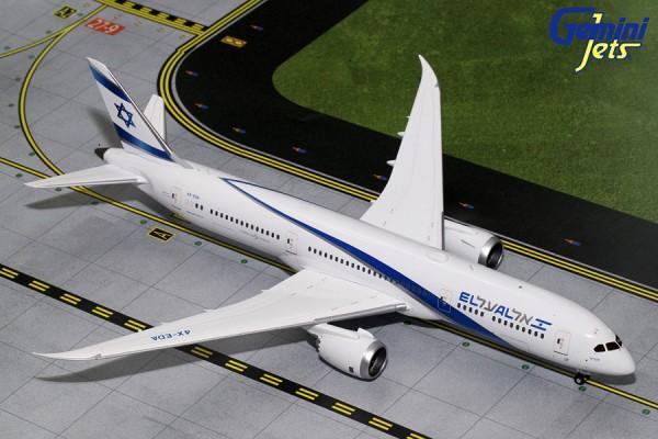 Boeing 787-9 Dreamliner El Al Israel Airlines Scale 1/200
