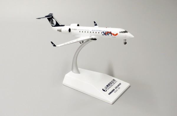 Bombardier CRJ-200LR Shandong B-3009 Scale 1/200