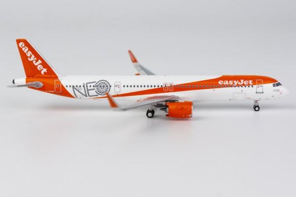 Airbus A321neo Easyjet G-UZMA Scale 1/400