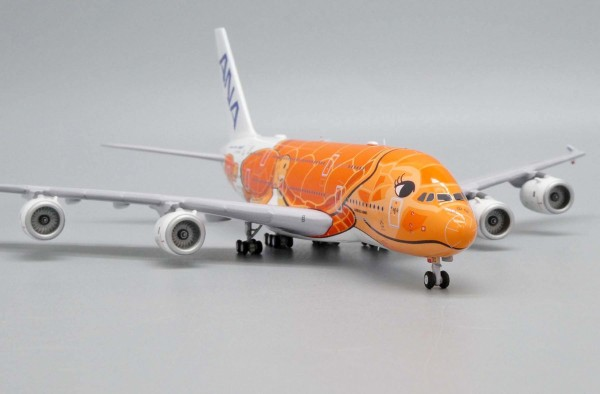 "Airbus A380-800 All Nippon Airways ANA ""Flying Honu - Ka La Livery"" JA383A Scale 1/400"