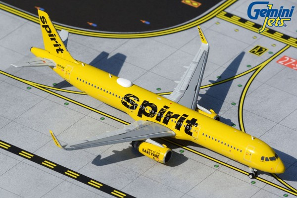 Airbus A321-200 Spirit Airlines Scale 1/400