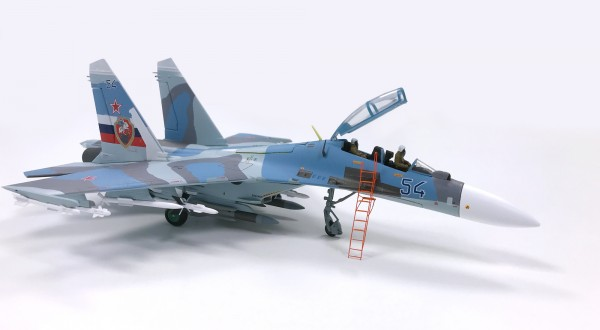 Sukhoi SU-30 Flanker-C Russian Air Forces 142nd IAP,1997 Scale 1/72