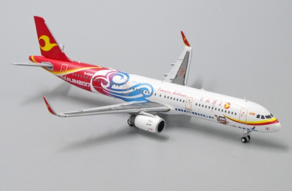 "Airbus A321 Tianjin Airlines ""Tianjin 2017 Livery"" B-8389 Scale 1/400"