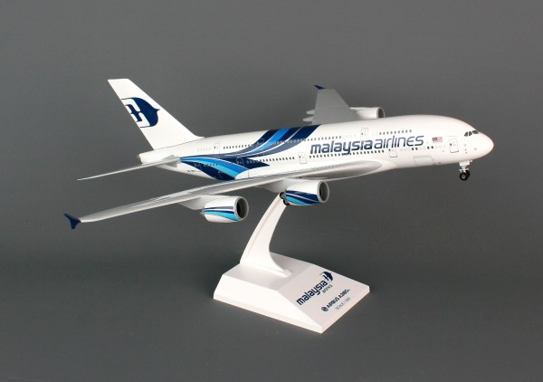 Airbus A380-800 Malaysia Airlines New Livery F-WWSU Scale 1/200 w/gear