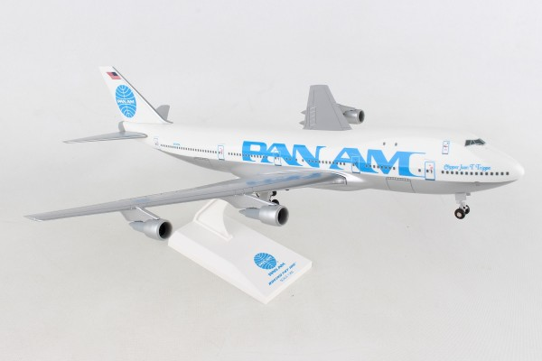 "Boeing 747-100 PAN AM ""Juan Trippe"" Scale 1/200"