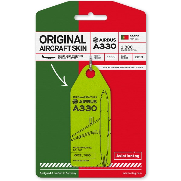 Aviationtag Airbus A330 – CS-TOE (TAP)