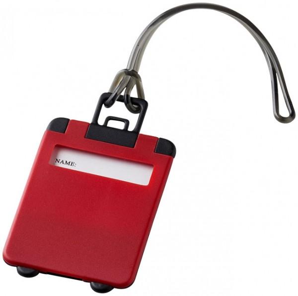 Kofferanhänger rot / Luggage Tag red