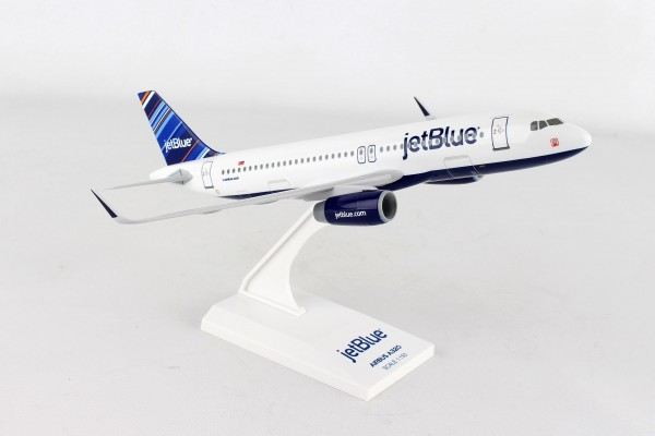 """Airbus A320 jetBlue Airways """"Barcode"""" Scale 1/150"""