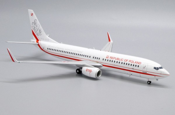 Boeing 737-800 Poland Air Force 0110 Scale 1/200 Limited 250pcs
