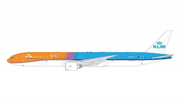 """Boeing 777-300ER KLM """"Orange Pride/KLM 100 logo"""" Scale 1/400"""