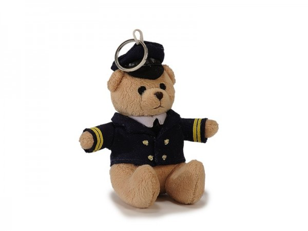Pilotbär / Pilot Bear Pilot keyring 12cm #