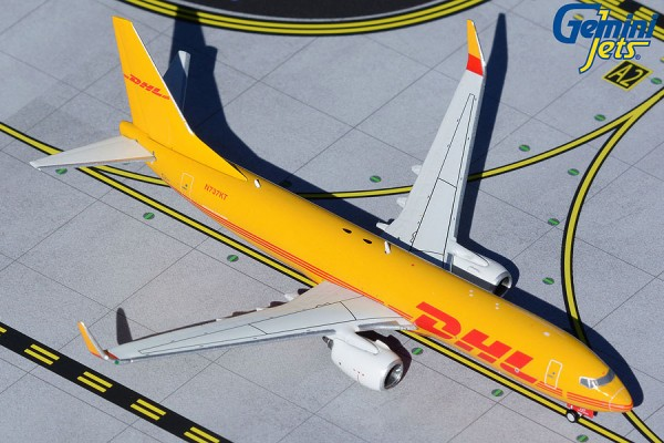 Boeing 737-800(BDSF) DHL N737KT Scale 1/400