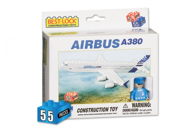 Airbus A380 Construction Toy (55pcs)