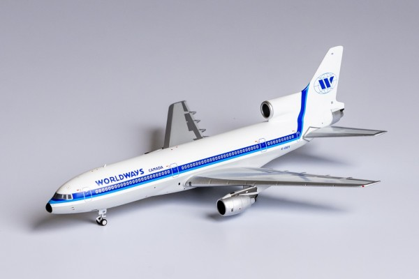 Lockheed L-1011-100 TriStar Worldways Canada C-GIES Scale 1/400