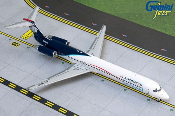 McDonnell Douglas MD-83 Aeromexico Travel Scale 1/200