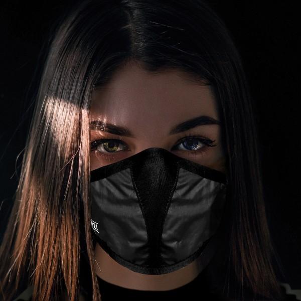 Mund- und Nasenschutz Maske schwarz
