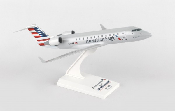 Bombardier CRJ200 American Eagle Air Wisconsin Scale 1/100