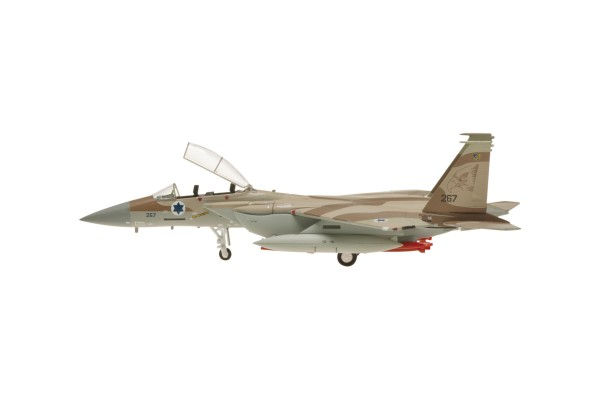 "McDonnell Douglas F-15I Israeli Air Force, No. 267, 69 Squadron ""The Hammers"" Scale 1/200"