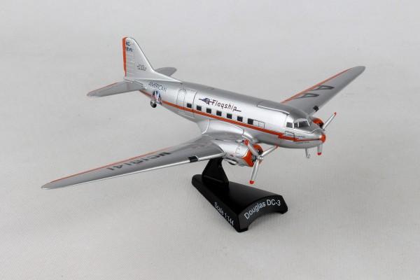 POSTAGE STAMP Douglas DC-3 American Flagship Tulsa Scale 1/144