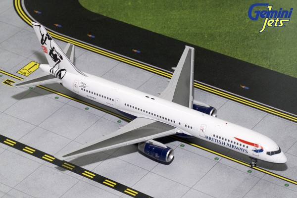 "Boeing 757-200 British Airways ""Rendezvous World Tail"" G-CPEV Scale 1/200"