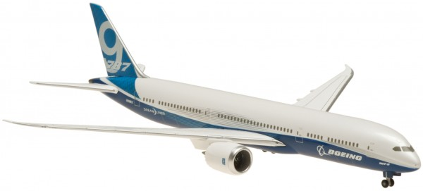 "Boeing 787-9 House Color ""ROLLOUT"" Ground Configuration Scale 1:400"
