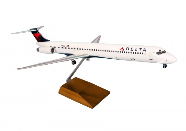 McDonnell Douglas MD-80 Delta Air Lines 2007 Livery Scale 1/100 w/Gear