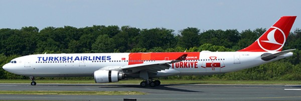 """Airbus A330-300 Turkish Airlines """"Tarihi Forma Livery"""" Scale 1/400"""