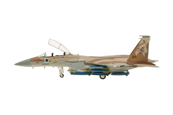 "McDonnell Douglas F-15I Israeli Air Force, No. 271, 69 Squadron ""The Hammers"" Scale 1/200"