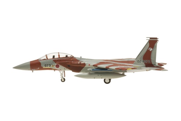 "McDonnell Douglas F-15DJ JASDF, 02-8073, ""brown""(Chairo) with missiles and tanks Scale 1/200"