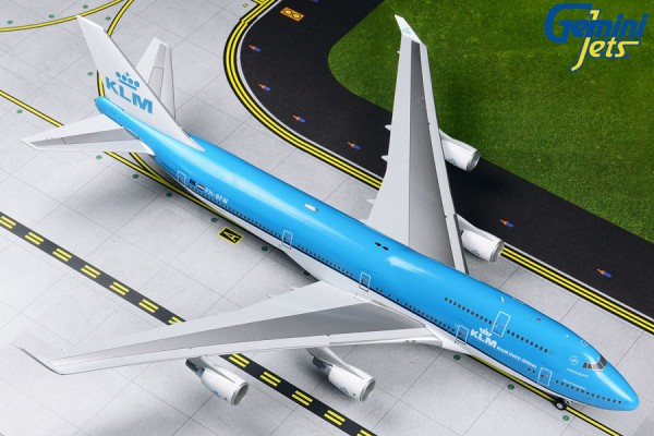 Boeing 747-400 KLM Royal Dutch Airlines Scale 1/200