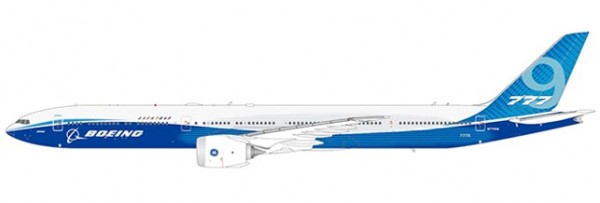 """Boeing 777-9X Boeing House Color """"Folded Version"""" N779XW Scale 1/400"""
