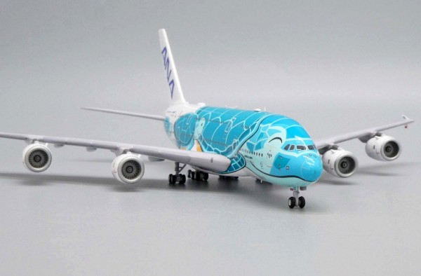 """Airbus A380-800 All Nippon Airways ANA """"Flying Honu - Kai Livery"""" JA382A Scale 1/400"""