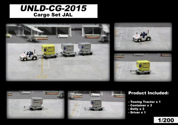 "Cargo Set ""JAL"" Scale 1/200 #"