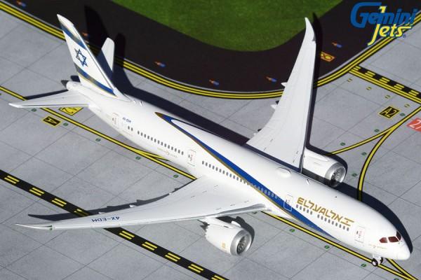 "Boeing 787-9 El Al Israel ""Jerusalem of Gold"" 4X-EDM Scale 1/400 +++"