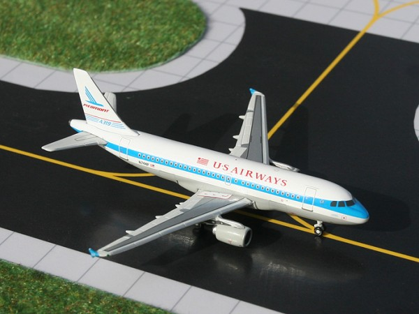 "Airbus A319 US Airways "" Piedmont Heritage Jet"" Scale 1/400"