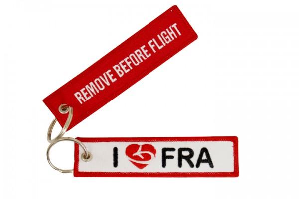 Key ring - I love FRA