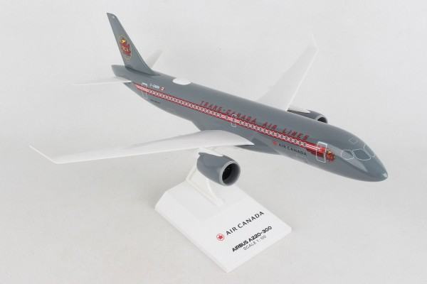 "Airbus A220-300 Air Canada ""RETRO TCA"" C-GNBN Scale 1/100"