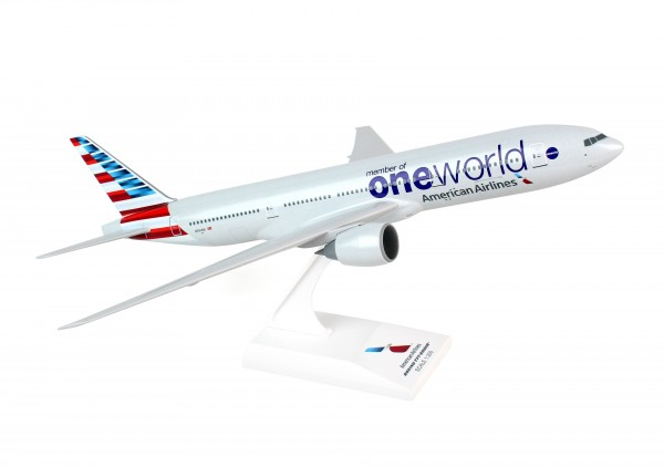 "Boeing 777-200 American Airlines New Livery ""One World"" N791AN Scale 1/200"