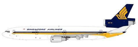 McDonnell Douglas DC-10-30 Singapore Airlines 9V-SDC Scale 1/400