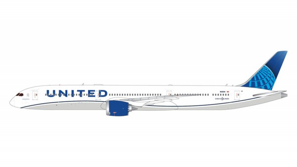 Boeing 787-10 United Airlines New livery Scale 1/400