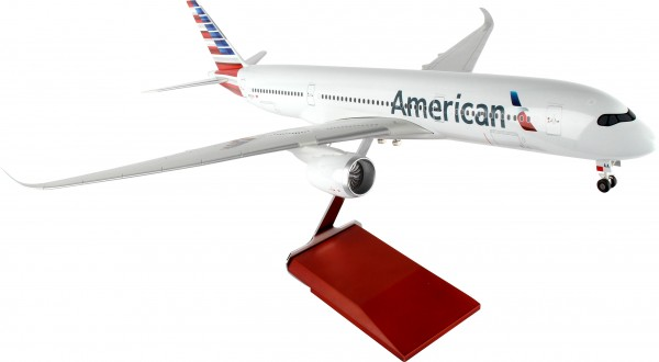 Airbus A350-900 American Airlines Scale 1/100 w/Gear