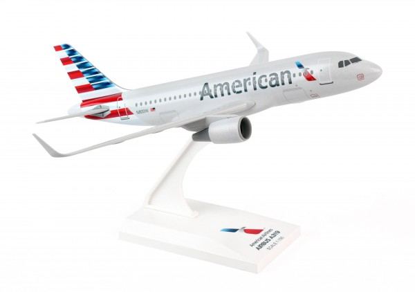 Airbus A319 American Airlines New Livery Scale 1/150