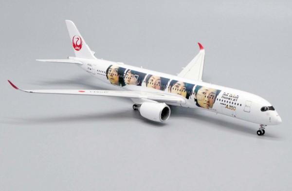 "Airbus A350-900XWB Japan Airlines ""20th Arashi Thanks Jet"" JA04XJ Scale 1/400 Limited 400pcs"