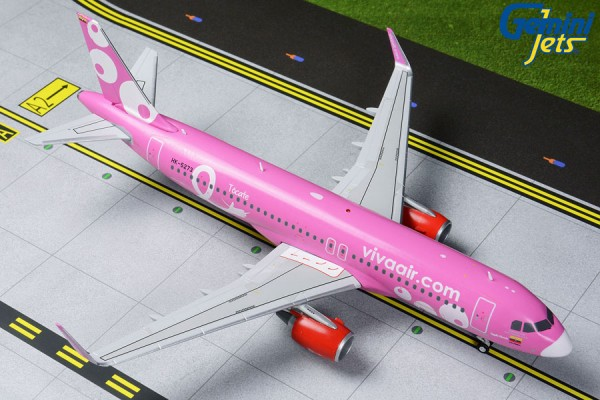"Airbus A320-200 Viva Air ""Pink Livery"" HK-5273 Scale 1/200"