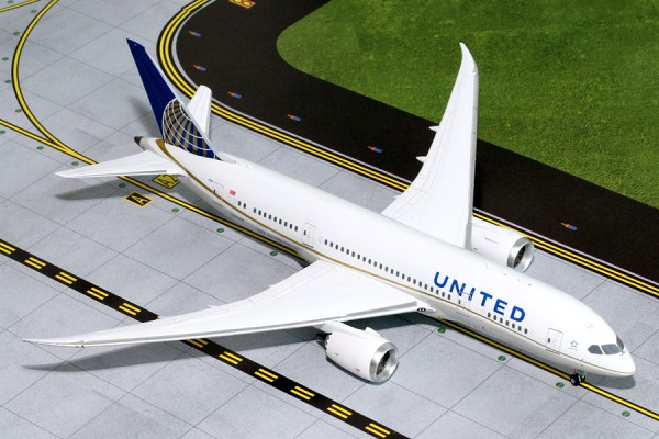 Boeing 787-8 Dreamliner United Airlines Scale 1/200