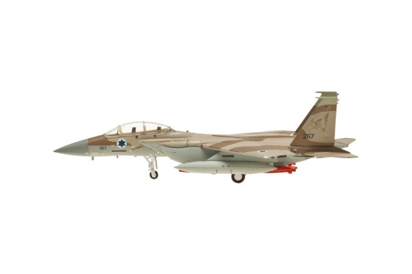 McDonnell Douglas F-15I Israeli Air Force, No. 267 with missiles and tanks Scale 1/200