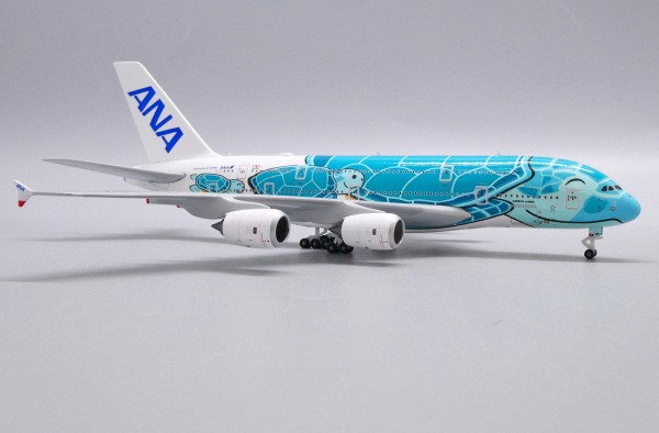 """Airbus A380-800 All Nippon Airways (ANA) """"Flying Honu - Kai Livery"""" JA382A Scale 1/500"""